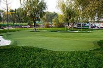 高尔夫训练场地