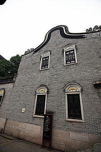 广东古屋山墙
