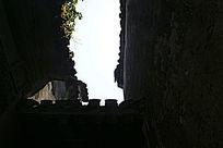 古建筑西递古墙