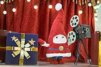 圣诞小精灵与摄影机