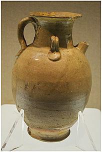 西晋时期黄釉瓷罐