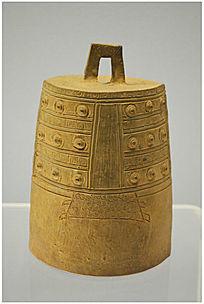战国时期青釉钟
