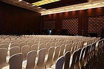 国家会议中心白色椅子的会场