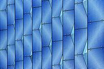 蓝色玻璃背景