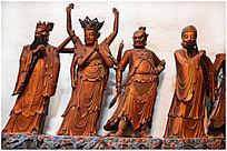 七十二仙人塑像