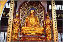 万佛之主释迦牟尼佛像