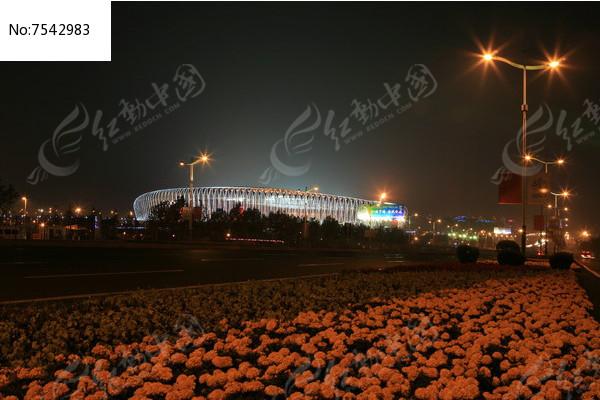 济南奥体中心图片,高清大图_节日庆典素材