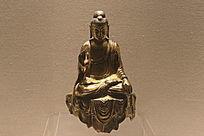 唐代佛鎏金铜像