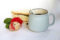 咖啡面包喜庆组合