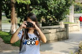摄影中的女孩