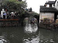 苏州周庄小桥