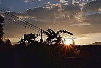 太阳升起风景