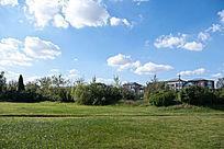 小区边的城市公园