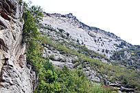 悬崖峭壁-山峰景观