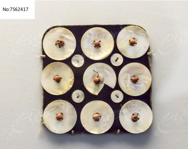 贝壳装饰图片
