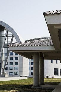 长春国际会展中心建筑一角