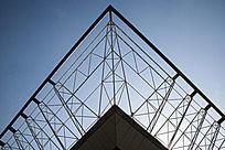 长春国际会展中心楼顶一角