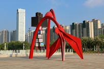 抽象景观雕塑