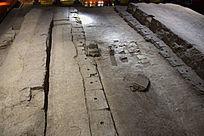 古代建筑门窝石展示