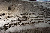古代土城墙根基