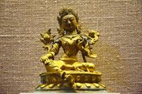 绿救度佛母铜像-佛像