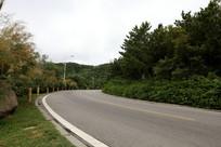 漂亮的山间公路
