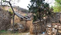 石头墙老建筑-豫东民居