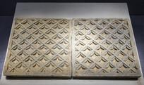 宋方形窗花砖雕