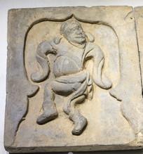 舞蹈俑砖雕