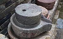 小石磨高清图-传统老物件