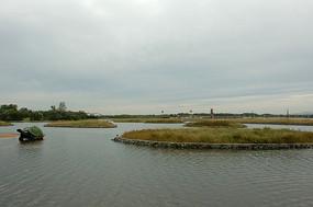 北戴河鸽子窝公园风景
