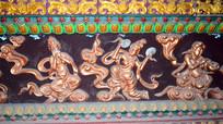 彩带飞扬的飞天仙女-宗教人物图片