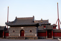 多伦县汇宗寺寺庙建筑