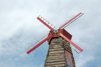 鸽子窝公园风车