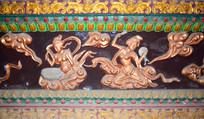 古铜色人物雕塑-宗教人物图片