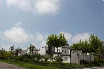 江南风格海边建筑