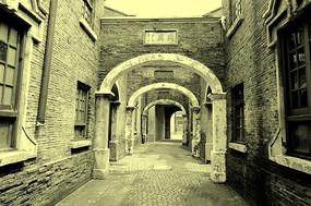 老上海弄堂建筑