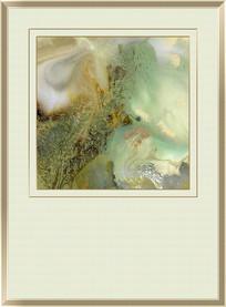 流彩水墨抽象油画图片