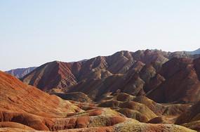 色彩斑斓丹霞地貌