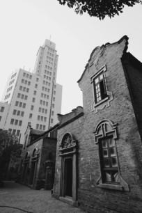 上海老城厢与摩登建筑