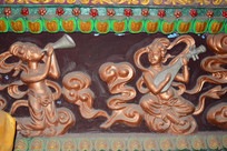 奏乐的仙女-宗教人物图片