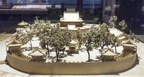 北京西苑团城建筑景观模型