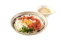 番茄肉沫捞汁米线