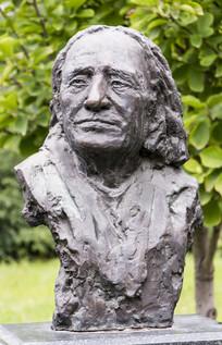 佛伦兹李斯特人物塑像