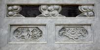 简洁荷花图案石雕-雕刻艺术