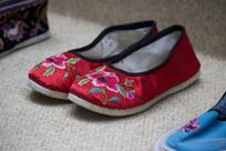 龙胜壮族绣花鞋