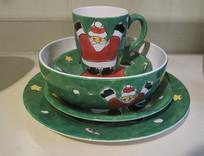 圣诞老人餐具