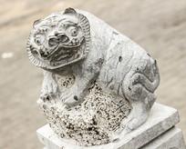 十二生肖寅虎动物塑像