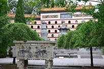 白马寺老建筑摄影
