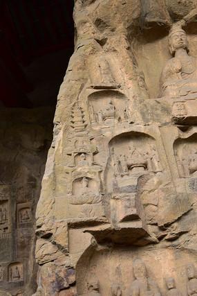 北魏石窟佛像雕刻